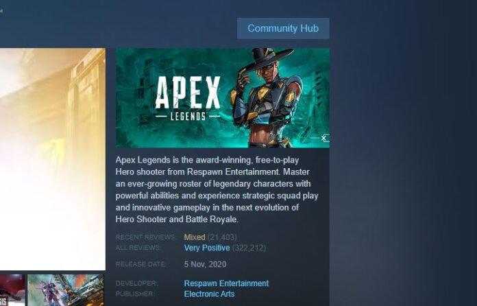 Apex Legends Steam Review