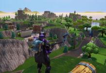 Fortnite OG Battle Royale Chapter 1 Map