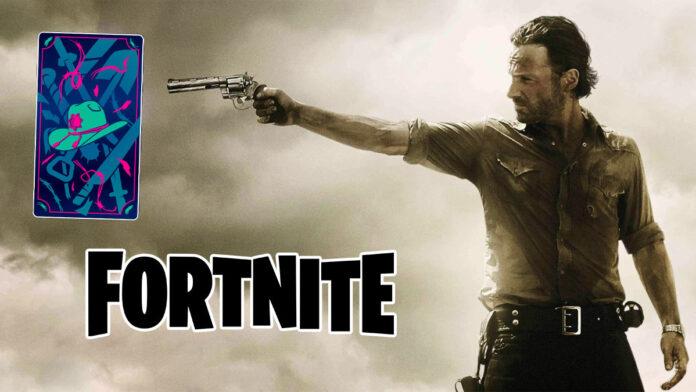 Fortnite x Walking Dead RIck Grimes