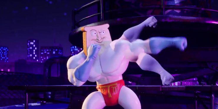 Powdered Toast Man