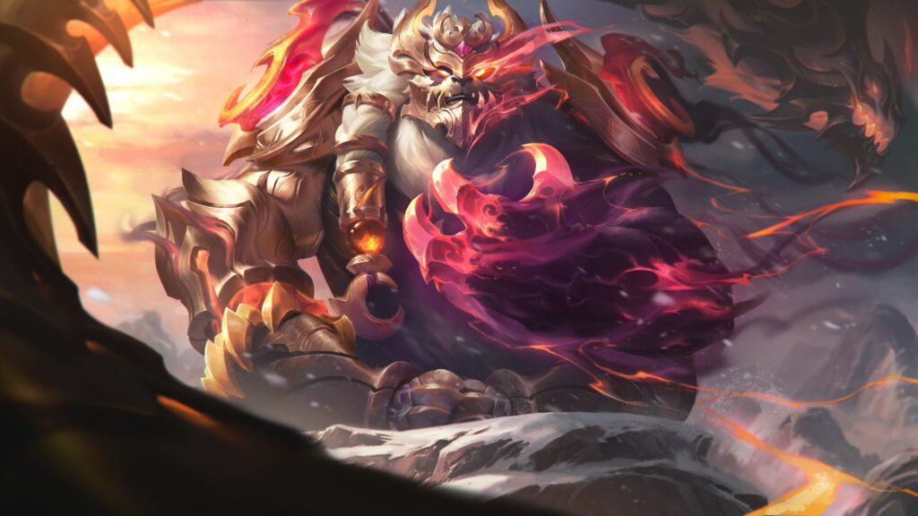 Dragonmancer Volibear Prestige Skin