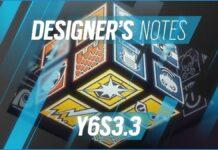 rainbow six siege Designer's Notes Y6S3.3