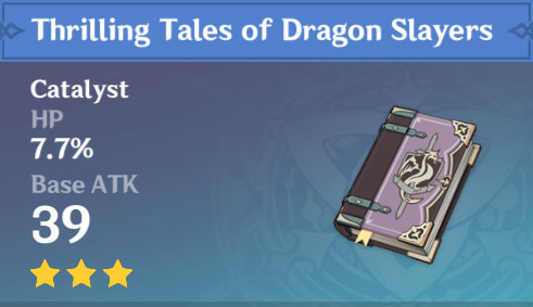 Thrilling Tales of Dragon Slayers