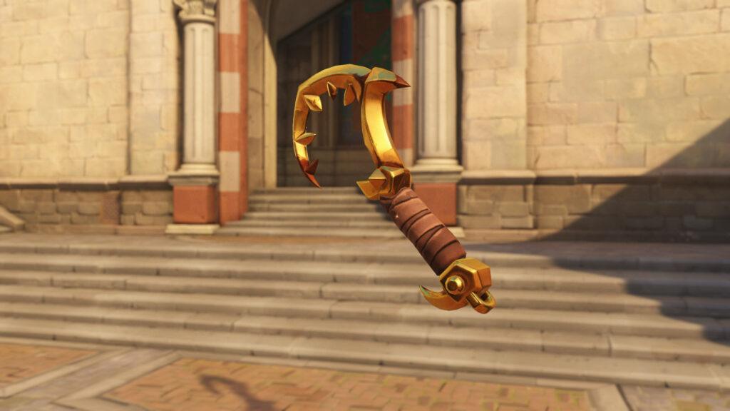 Butcher Roadhog Golden gun