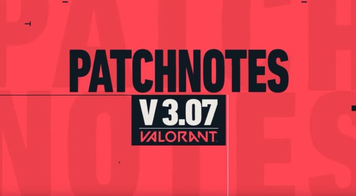 Valorant Patch notes 3.07