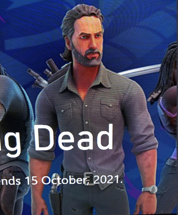 Fortnite x Walking Dead Rick Grimes Skin