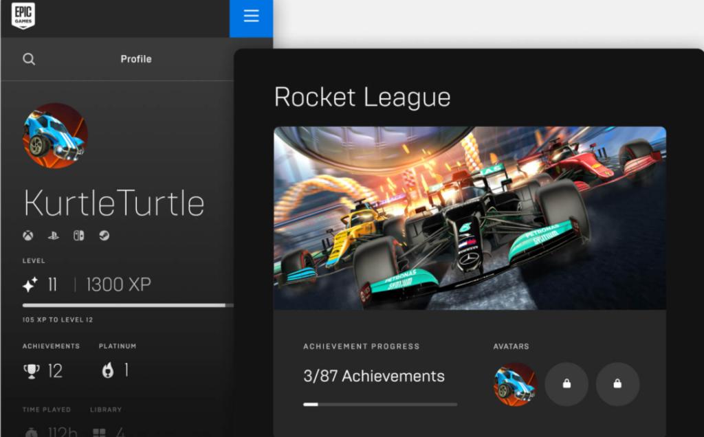 Rocket League Achievements Page Epic Games Store