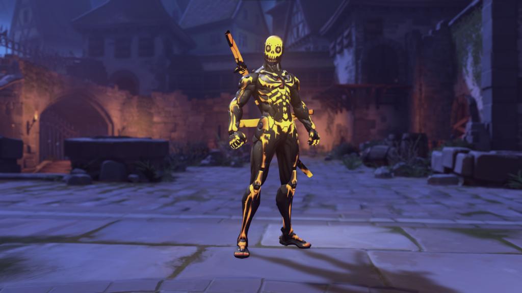 Skeleton Genji Skin (Epic)
