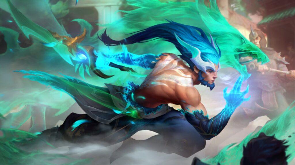 Dragonmancer Master Yi
